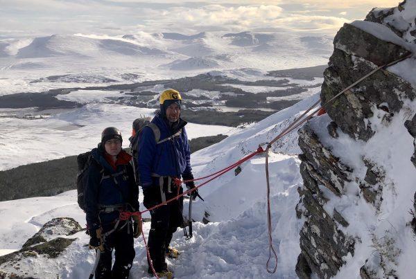 Winter mountaineering courses in Scotland - the Cairngorms, Glencoe or Ben Nevis