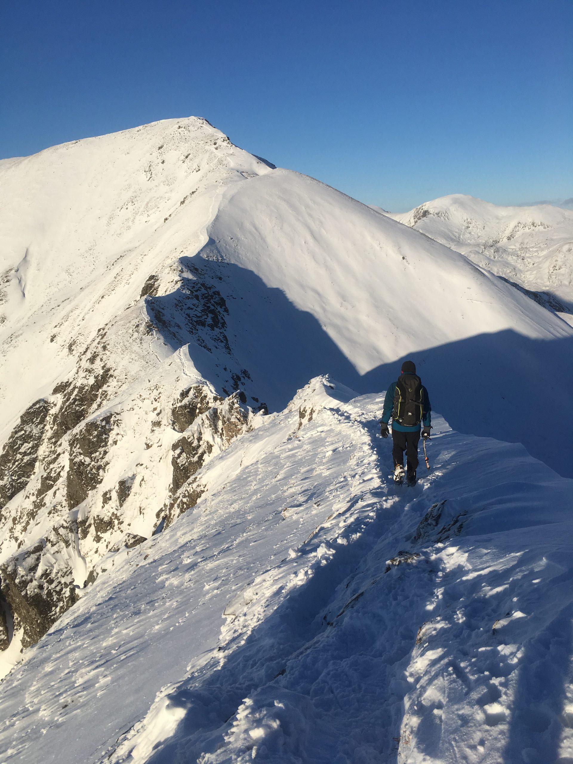 Winter skills course in Scotland in the Cairngorms, Glencoe or Ben Nevis