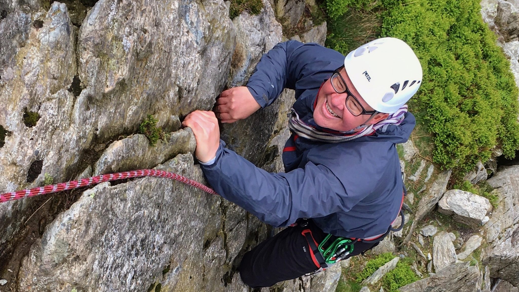 Guided rock climbing in Snowdonia