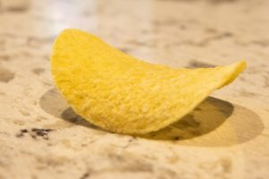 A Pringle is a simple everyday way of understanding what a col or saddle is