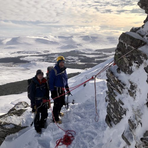 Winter mountaineering courses in Scotland - the Cairngorms, Glencoe or Ben Nevis